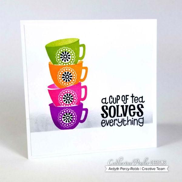 Cuppa Tea Stamp Set