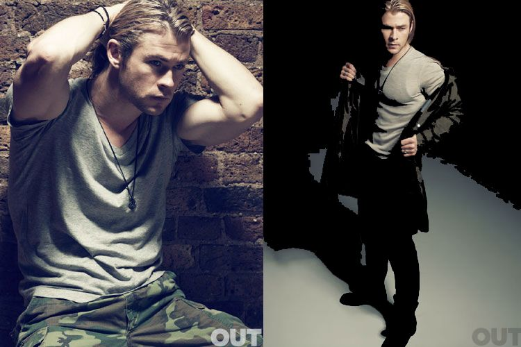 Chris Hemsworth...whoa