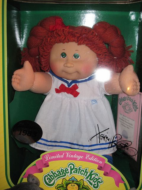 Vintage Edition Cabbage Patch Kid Cabbage Patch Kids Dolls Cabbage Patch Kids Cabbage Patch Babies