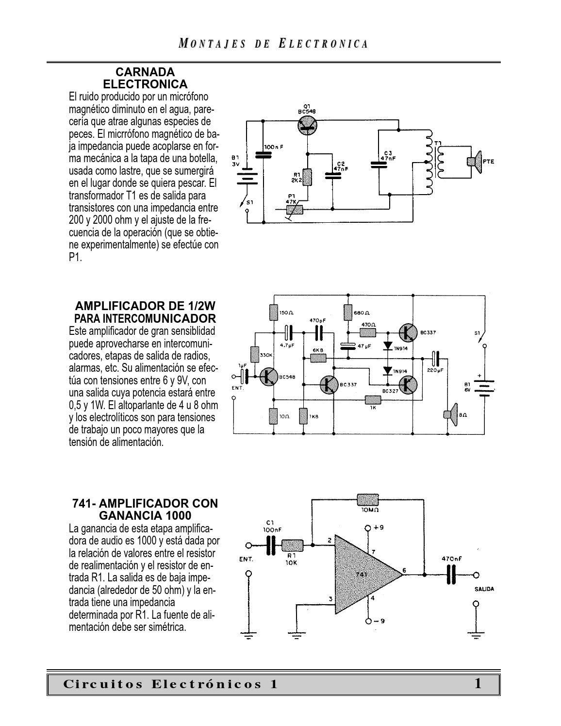 Circuito De Electronica : Electrónica básica circuitos electrónicos circuitos