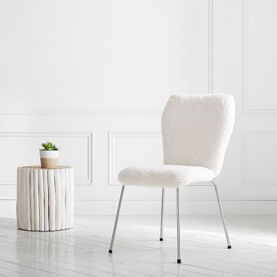 Pleasing Ivory Sherpa Stationary Airgo Desk Chair Jh In 2019 Alphanode Cool Chair Designs And Ideas Alphanodeonline