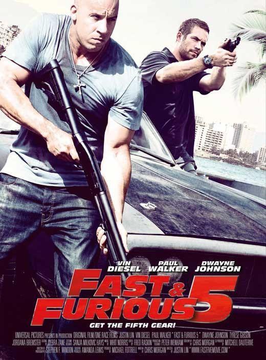Fast Five 11x17 Movie Poster 2011 Velozes E Furiosos Filmes Velozes E Furiosos 5 Velozes E Furiosos