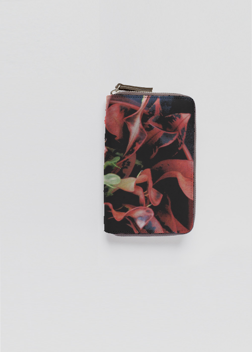 Leather Slimfold Wallet - blossom s by VIDA VIDA bdbmCBe
