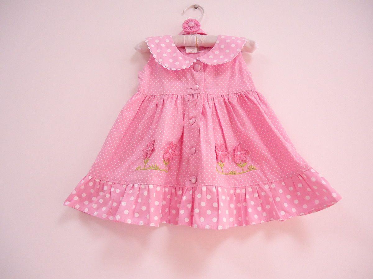 Vestido Bebe Veste 3 6 Meses Vestidos Infantis Vestidos De
