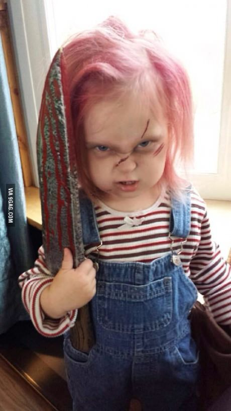 She was born to be Chucky.