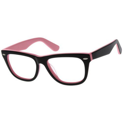 f384151d0d Women s Full Rim Black Out Breast Cancer Eyeglass Frames  107221   Zenni  Optical