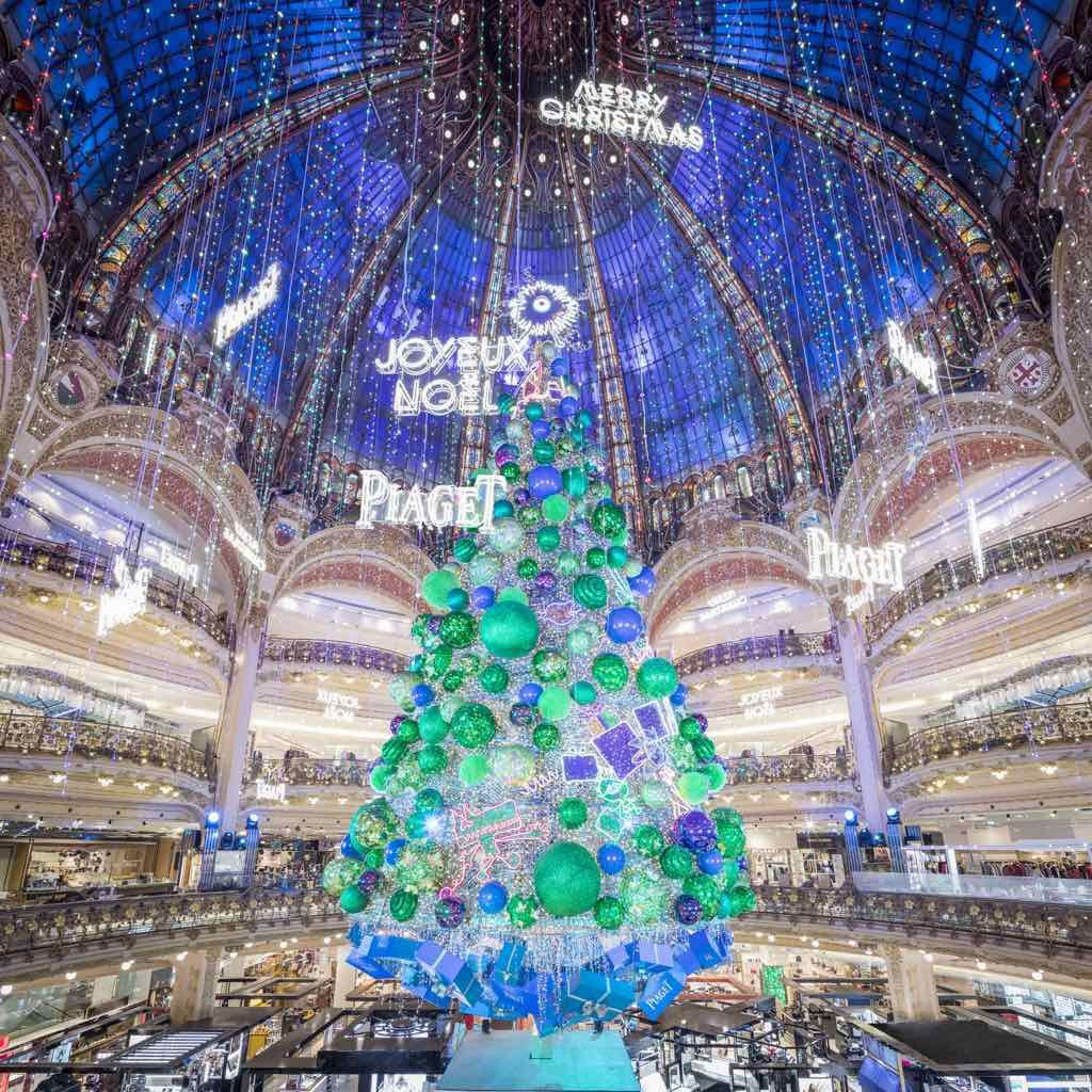 Celebrate Christmas In Paris At Galeries Lafayette Christmas In Paris Galeries Lafayette Lafayette Paris