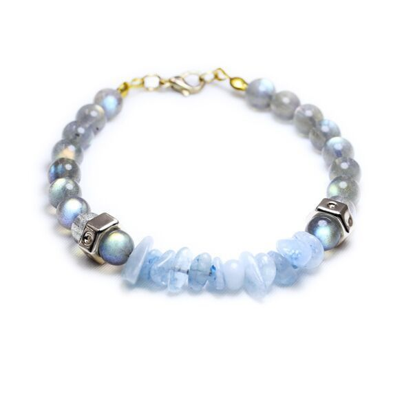 Youth Birthstone Stretch Bracelet March