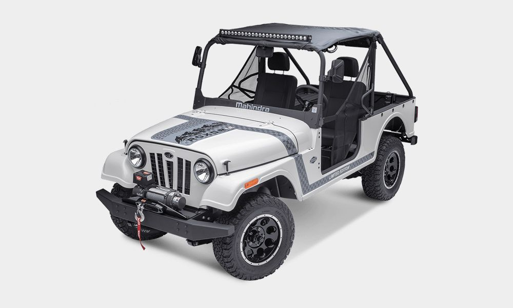 Mahindra Roxor Vehicles Jeep Offroad