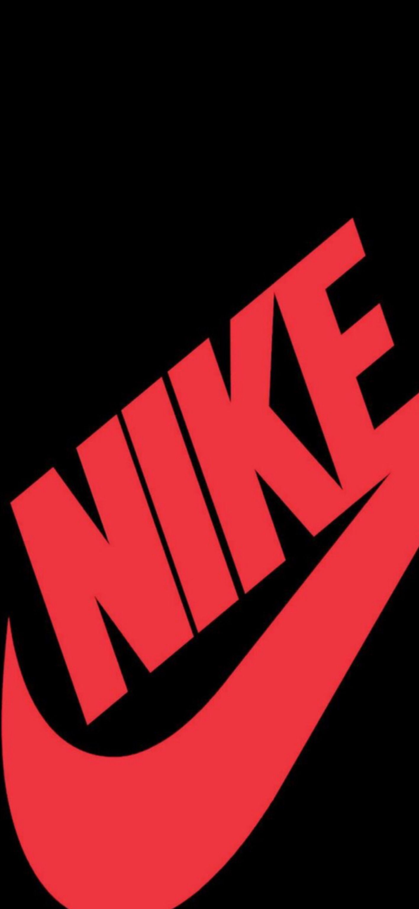 Wallpaper Iphone X Nike Logo Wallpaper Hd Gambar Latar Belakang