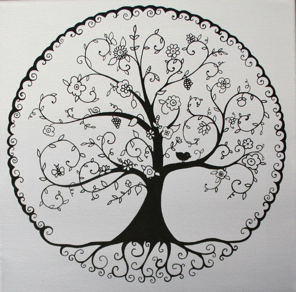 nouvelle collection l arbre de vie tatoos lebensbaum. Black Bedroom Furniture Sets. Home Design Ideas