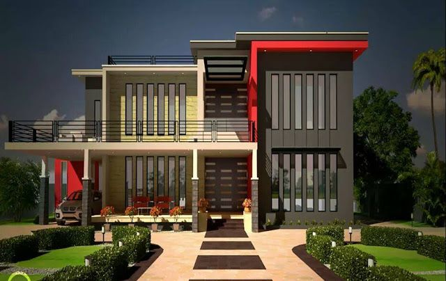 two floor houses with 3rd floor serving as a roof deck nice homes