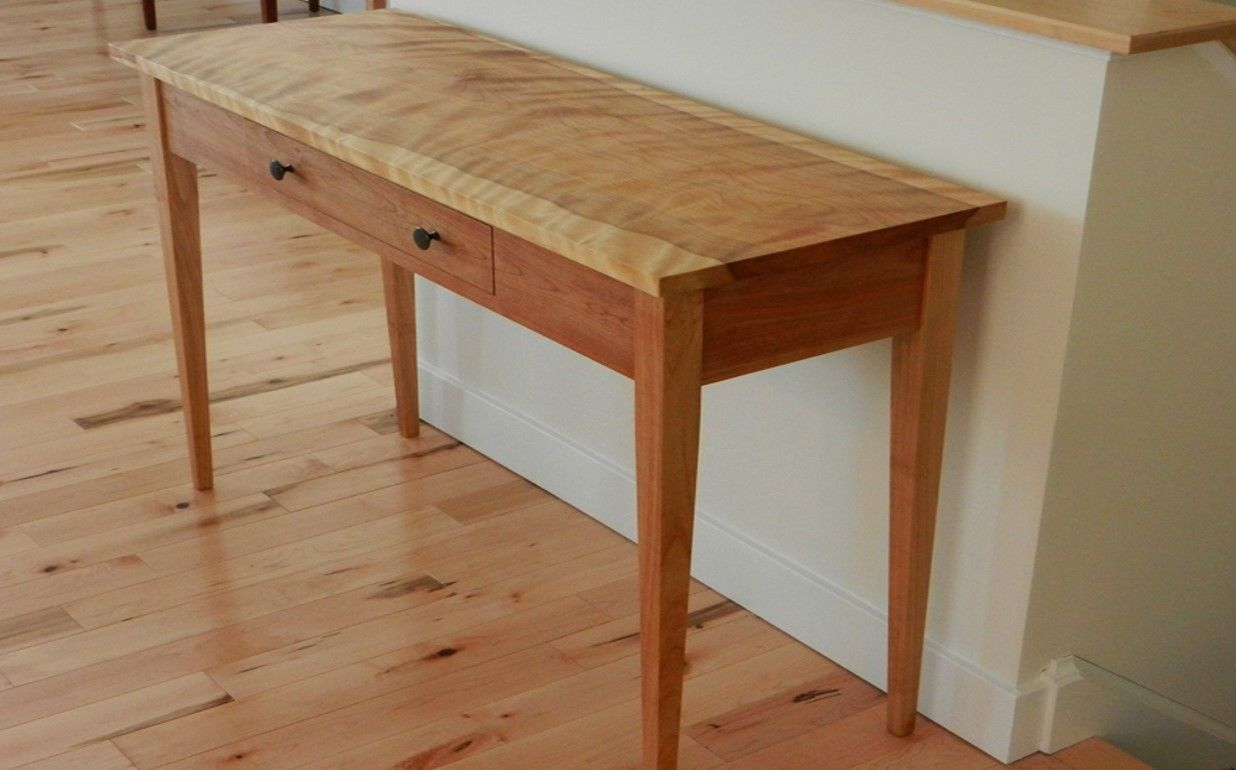 Wooden Hall Tables hardwood shaker hall table | muebles | pinterest | hall tables and