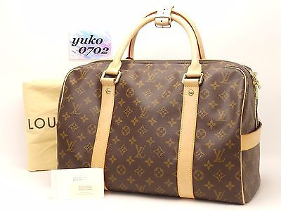 m5005 Auth LOUIS VUITTON Monogram TH1026 CARRYALL Boston Travel ...