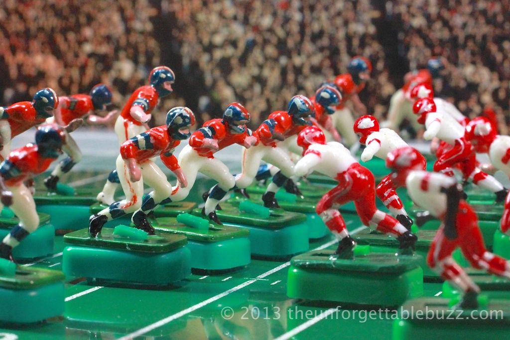 Denver Broncos and Kansas City Chiefs. Tudor 1960's AFL ...