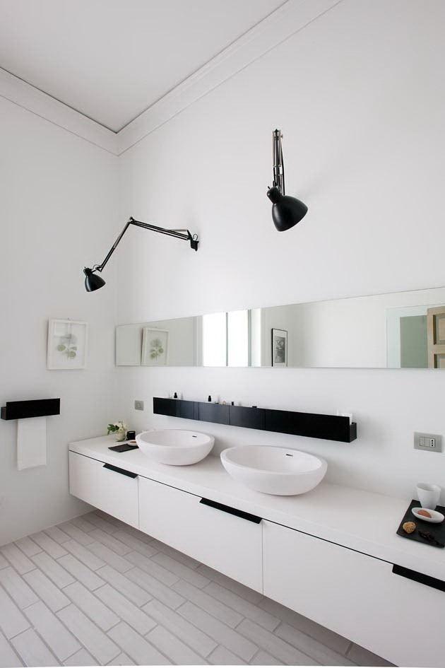 Wall Mounted Desk Lamps In Bathroom Lampe Badezimmer Bad
