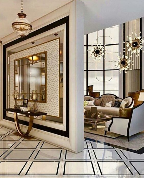 Amazing Tips To Design Your Entrance Foyer Modern Room Decor