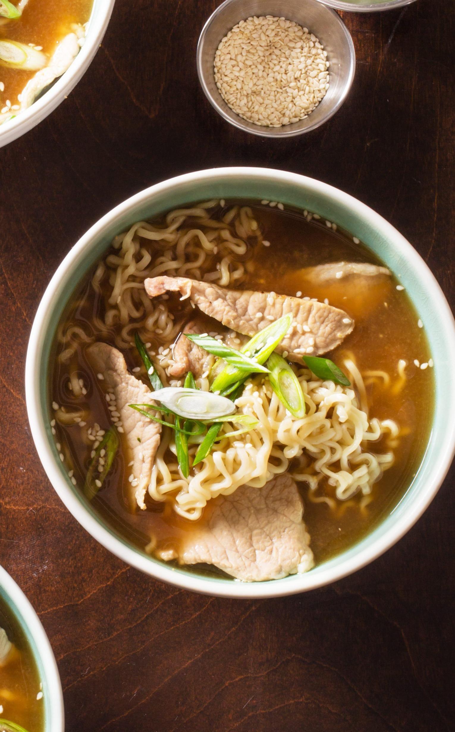Ramen noodle flavor packet substitute