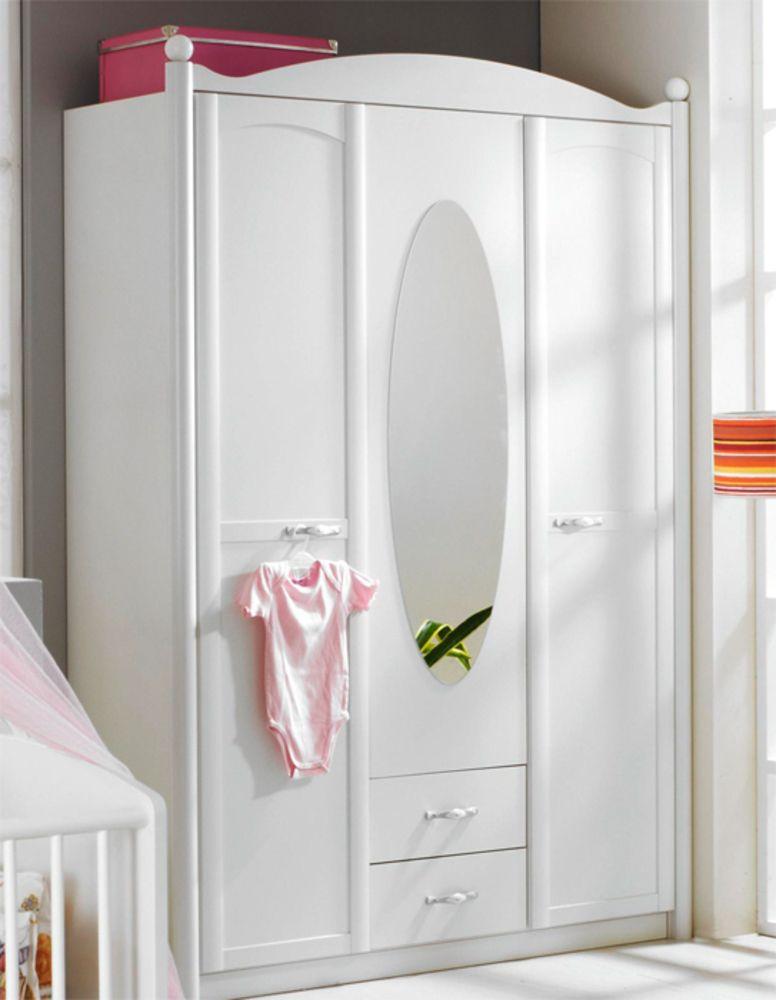 Armoire 3 Portes Armoire 3 Portes Lilly Blanc Neige Furniture