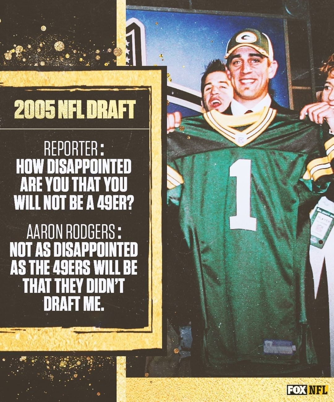 Pin By Joe Cool On 0 Daily In 2020 Nfl Draft Aaron Rodgers Baseball Cards