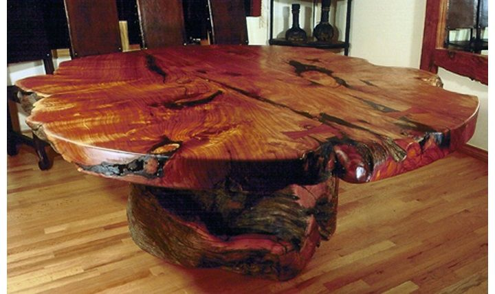Tree Trunk Coffee Table Base 2 Handmade Dining Room Tables