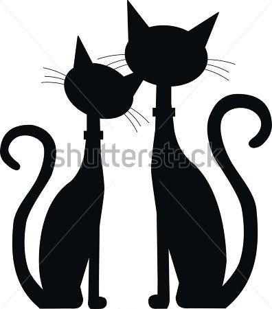 gato negro animado - Buscar con Google | gatti | Pinterest | Gato ...