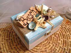 Photo of Risultato dell'immagine per imagem caixas decoradas com conchinhas do mar