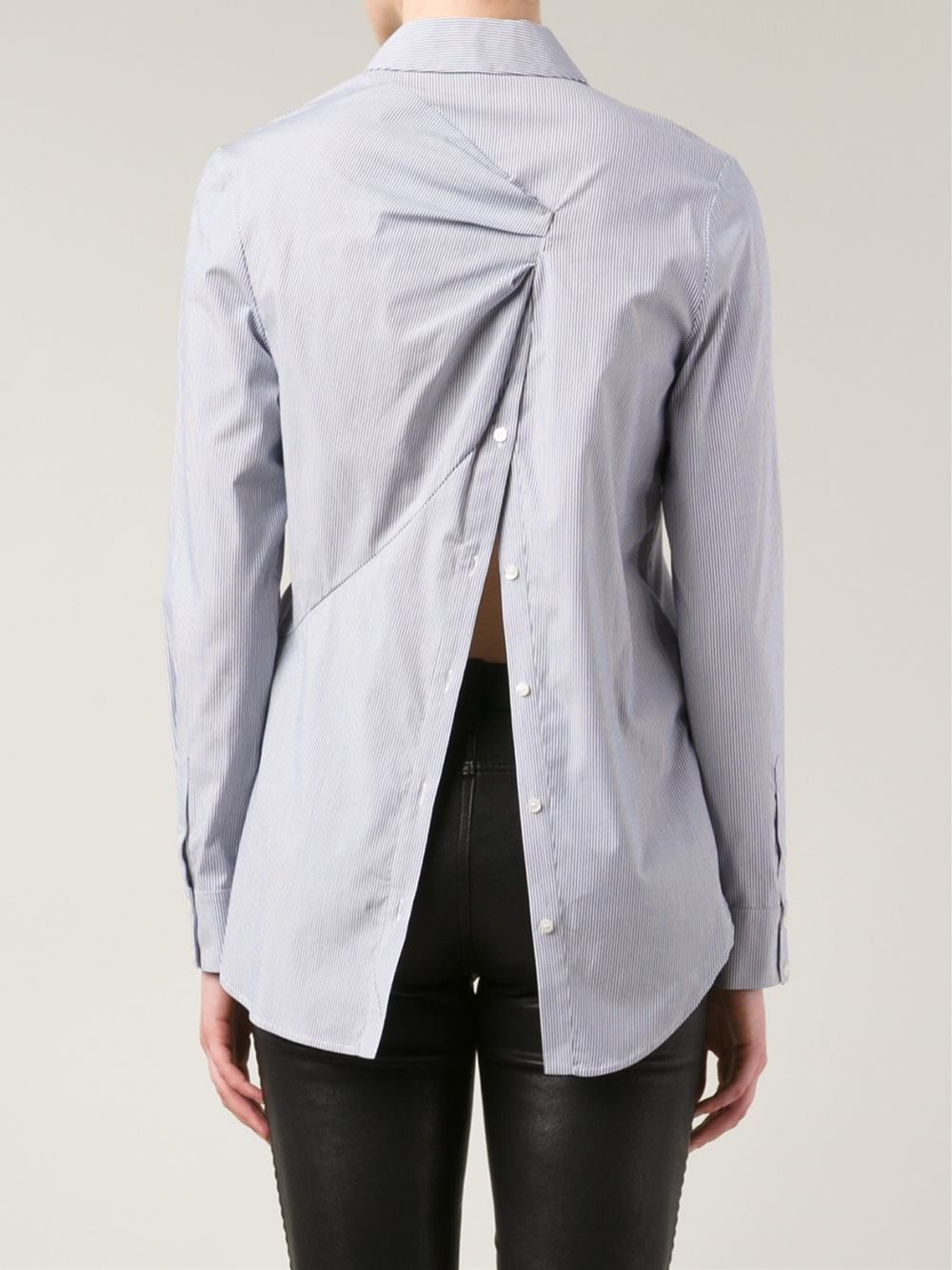 Thakoon Addition Striped Open Back Shirt - The Webster - Farfetch.com