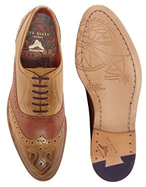 the best attitude bbc3a 8ec6c Enlarge Ted Baker Deslin 4 Leather Brogues | Scarpe ...