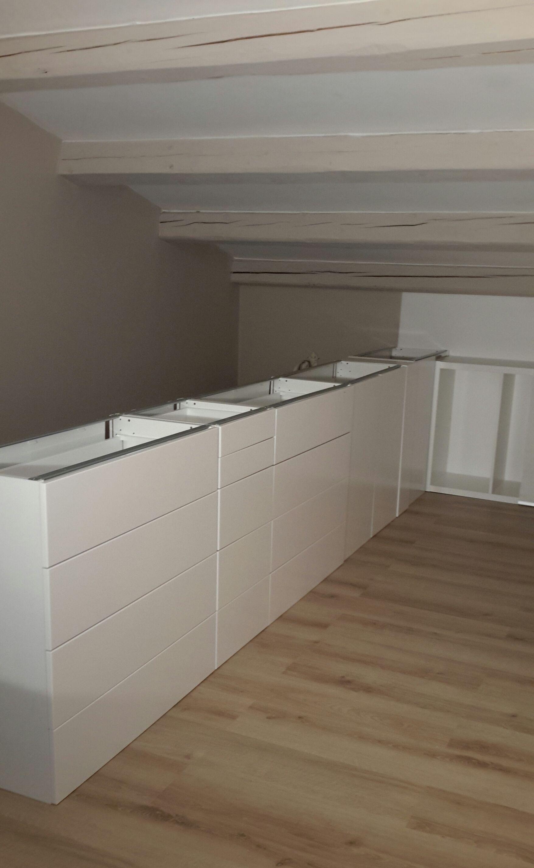 APRES : Meubles de cuisine IKEA (13 cm de profondeur), en 13