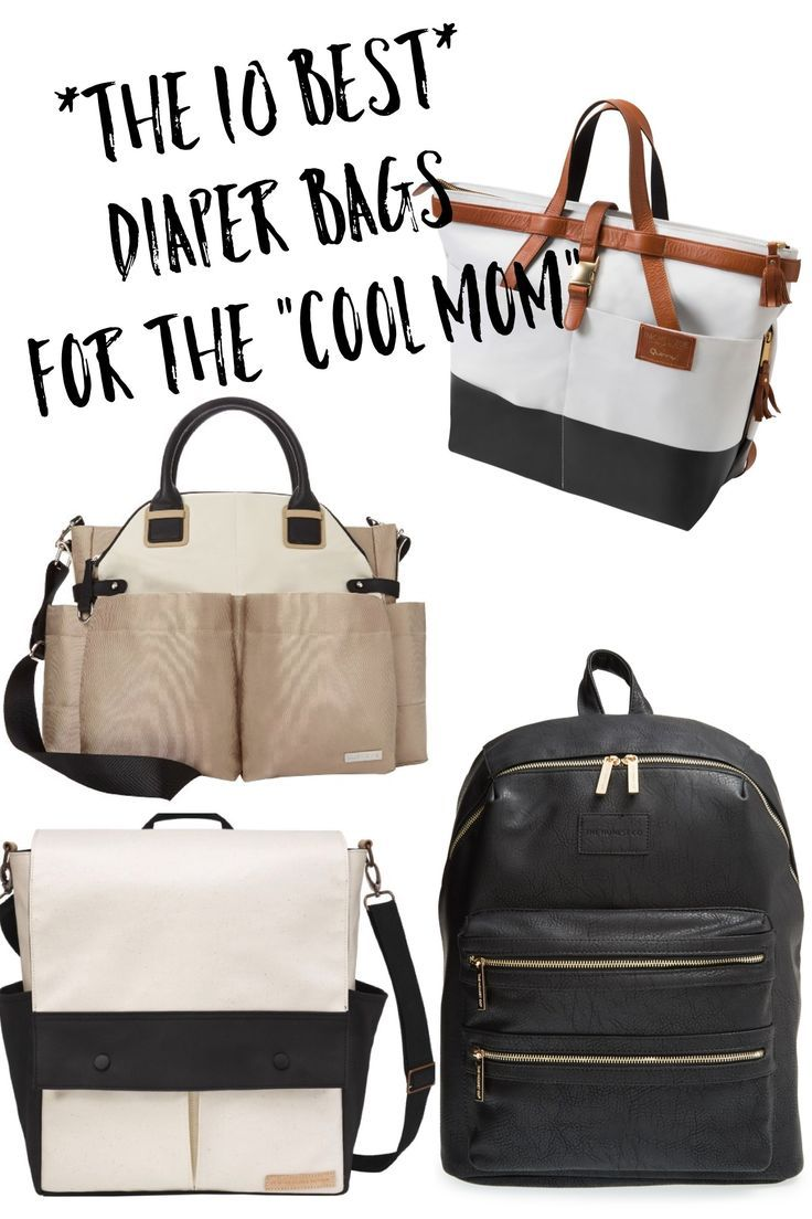 The 10 Most Stylish Diaper Bags For Cool Mom