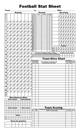 photo about Printable Football Stat Sheets known as stat sheets for soccer Soccer Stat Sheet - SharePDF