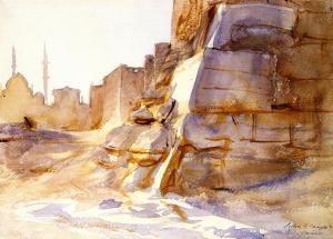 John Singer Sargent - Cairo 1891