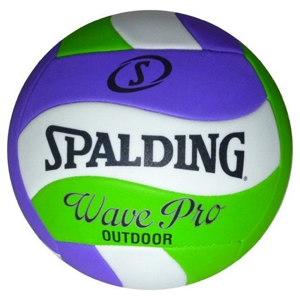 Spalding Wave Pro Volleyball White Volleyball Spalding Fun Sports