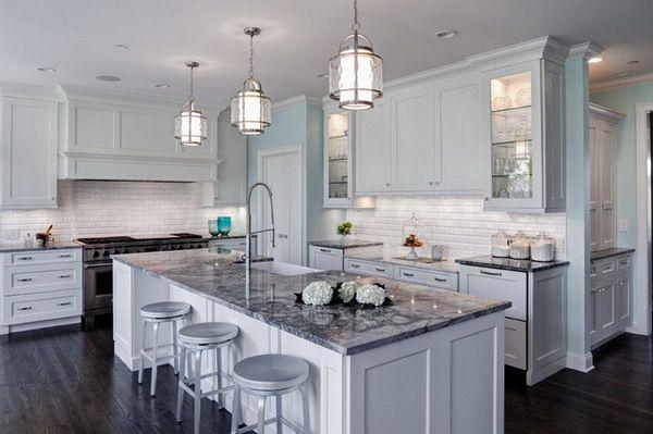 Traditional Kitchen Design Ideas Grey Kitchen Island Granite Countertops Kitchen Light Grey Kitchens