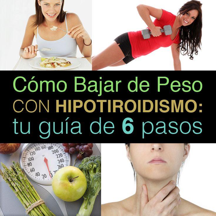 Como bajar de peso hipertiroidismo