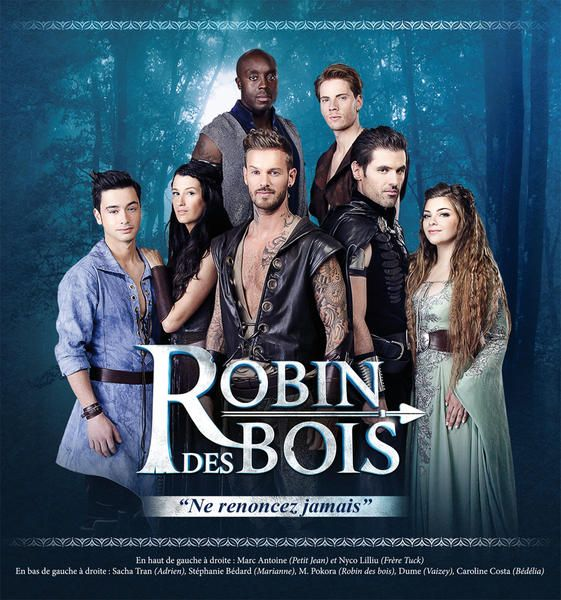 the cast of  u0026quot robin des bois u0026quot