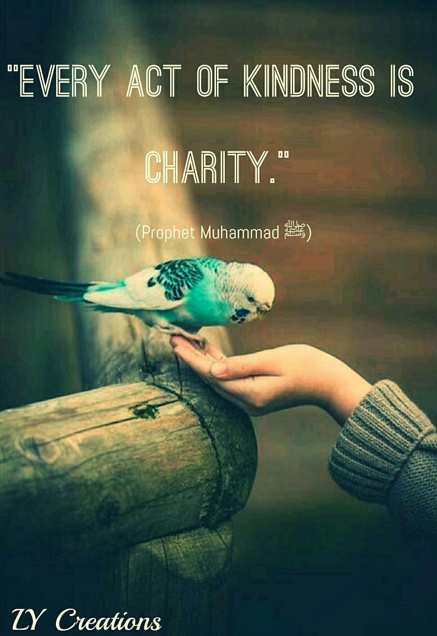 Every Act Of Kindness Is Charity Muslim