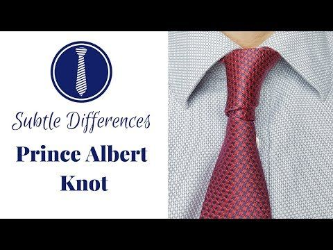 How to tie a tie prince albert knot double four in hand subtle how to tie a tie prince albert knot double four in hand subtle necktie knots youtube ccuart Choice Image