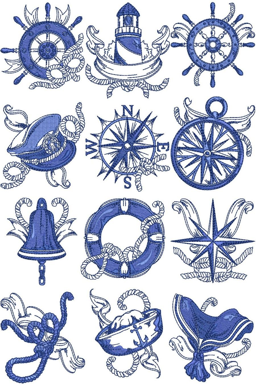 Image result for nautical embroidery designs image result for nautical embroidery designs bankloansurffo Gallery