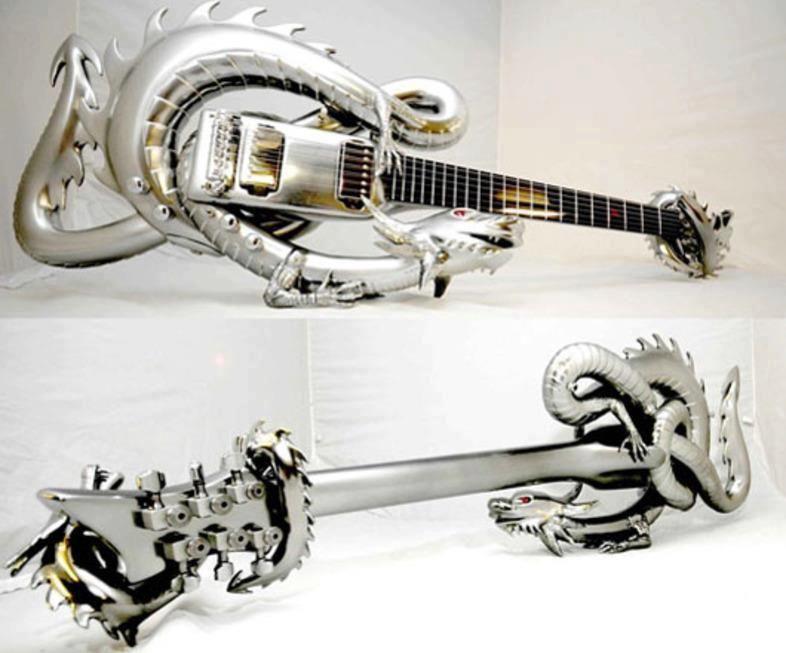 Dragon Themed Item-Guitar