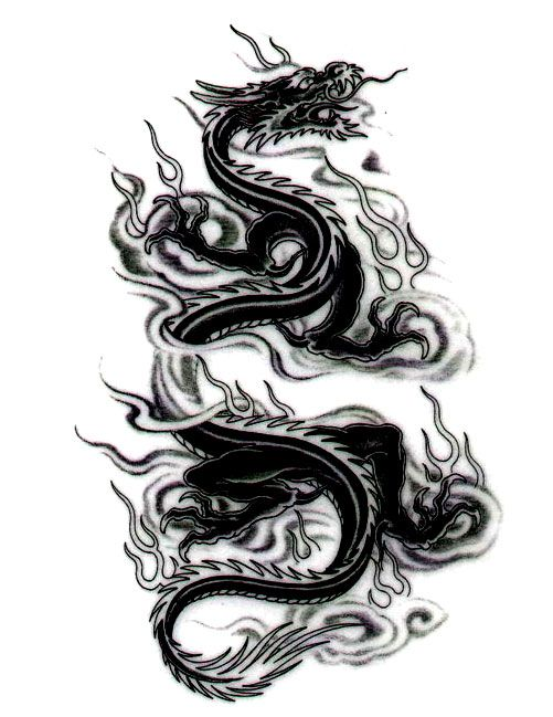 cool dragon and tiger tattoo designs