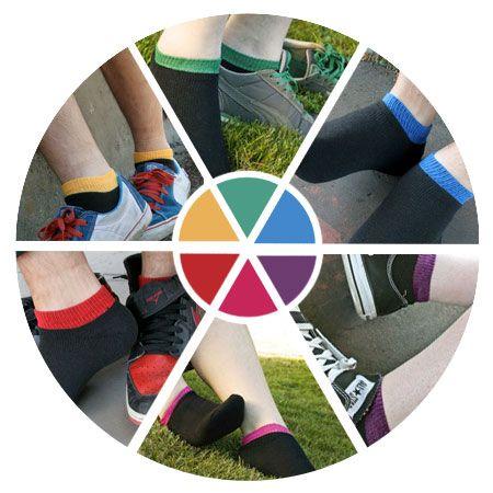 More rainbows for summer - our Dream Sneaker socks!