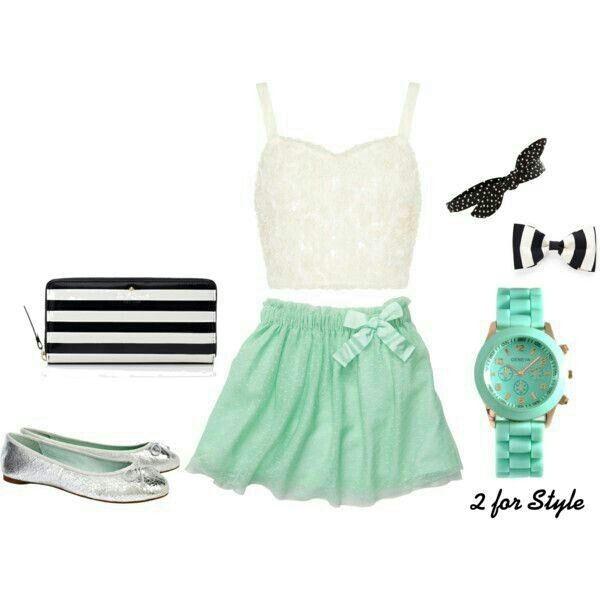 Mint skirt!