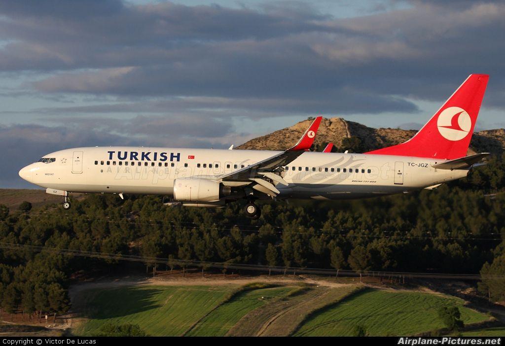 Boeing 737 800 Turkish Airlines Turkish Airlines Boeing 737 Boeing
