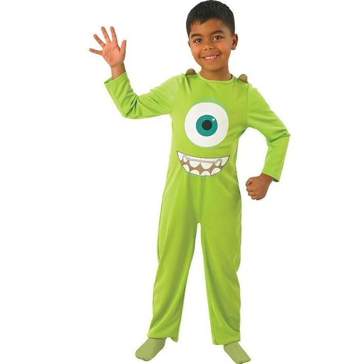 Disfraz De Mike Wazowski Infantil Disfraces Para Niños Monstruos University Disfraces De Peliculas