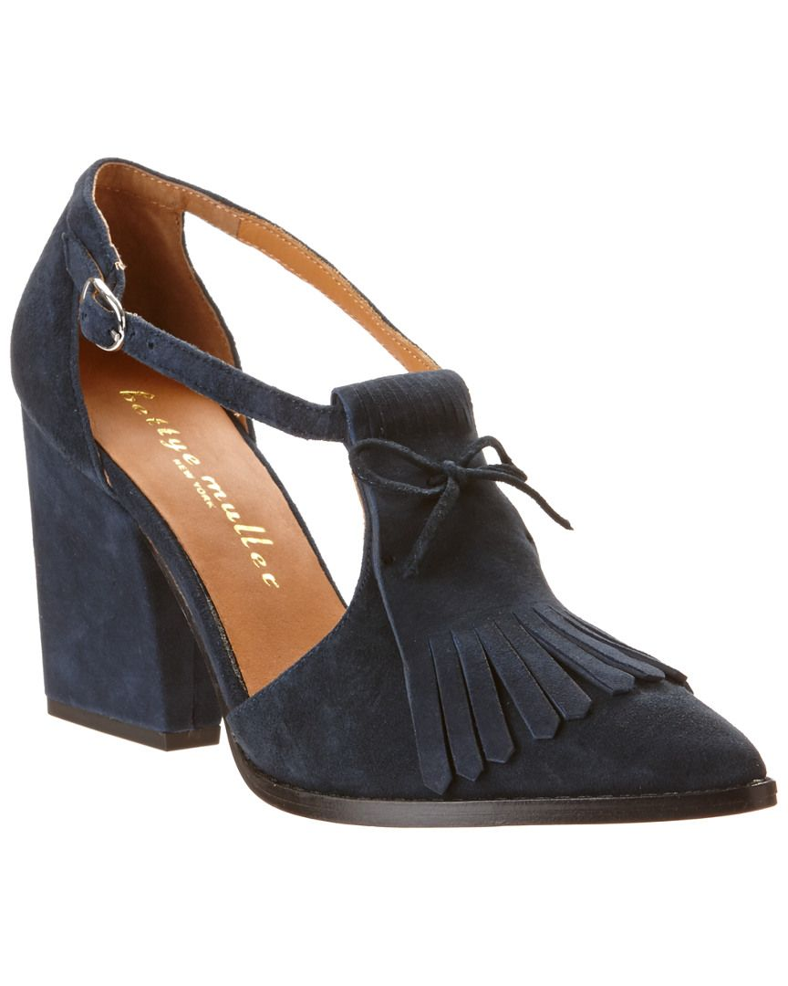 Bettye Muller Kiltie Suede Pump is on Rue. Shop it now.