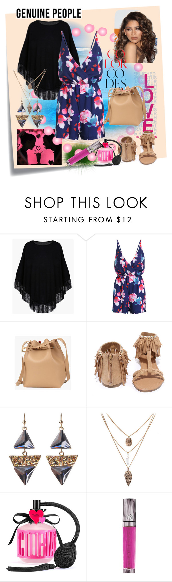"""""""Genuine people"""" by azemina-moda ❤ liked on Polyvore featuring Post-It, Coleman, Qupid, Victoria's Secret, Urban Decay and Genuine_People"""