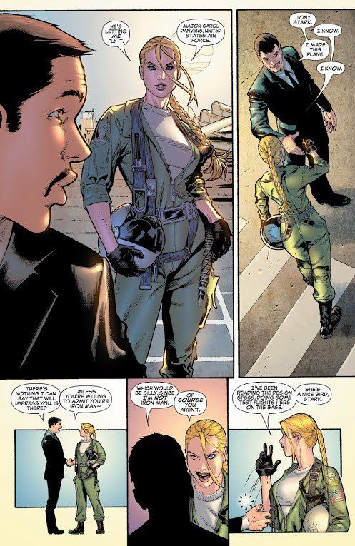Image result for carol danvers air force academy