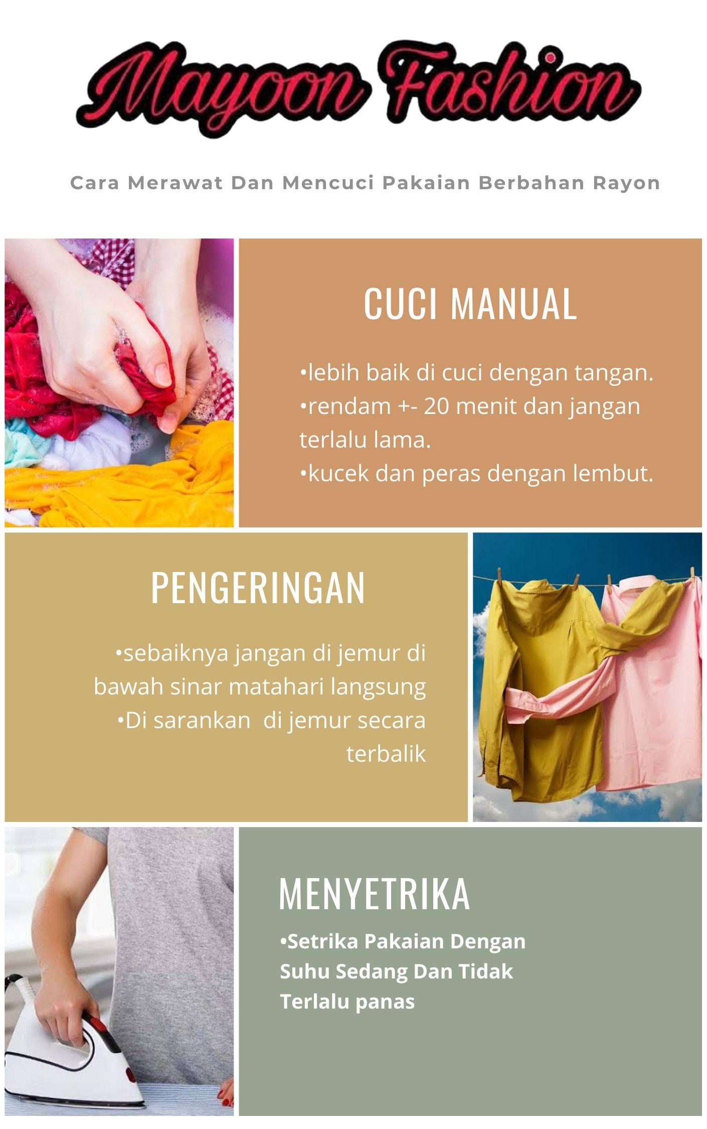 Cara Mencuci Baju